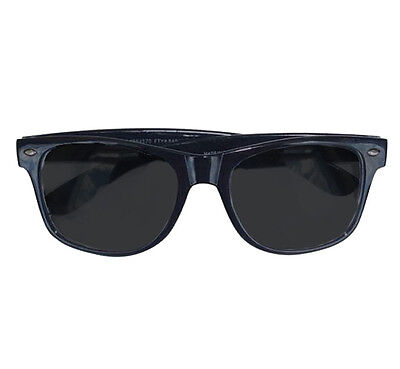 50'S Style Specs Sunglasses Rock n Roll Black Fancy Dress Theme Christmas (Rock Christmas Kostüm)