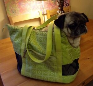 Dog carrier/bag for up to 20 lbs