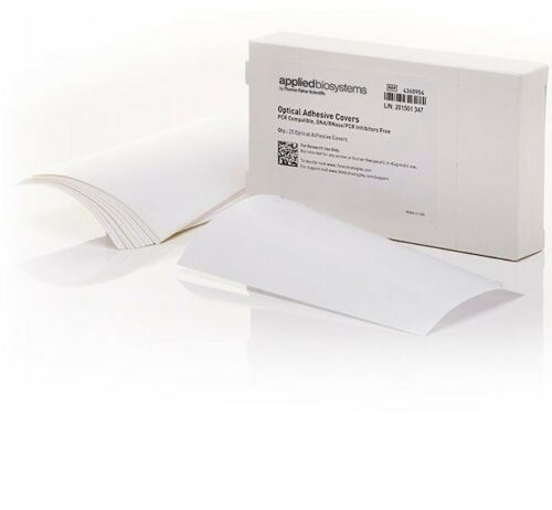 Applied Biosystems MicroAmp Optical Adhesive Film, Pack of 25, New, 4360954