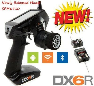 All New Spektrum Dx6r 6 Channel Dsmr W  2X Receivers Spm6410