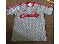 Liverpool away shirt. 1989