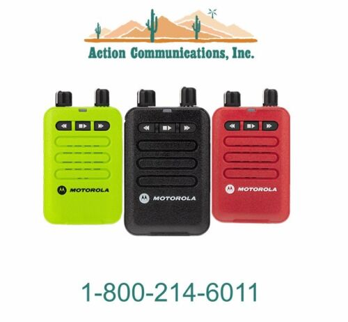 MOTOROLA MINITOR VI - VHF 143-174 MHZ, 5 CHANNEL PAGER (Color Selection)