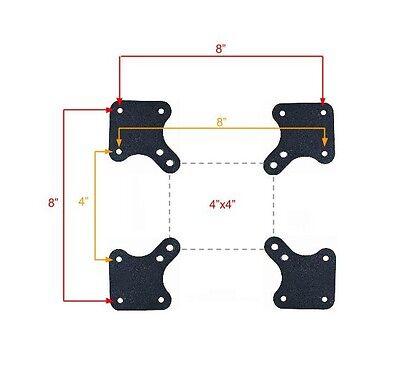 Universal VESA Adapters Extender plates TV Wall Mount  Extensions 32 39 40 42
