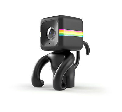 NEW Polaroid Monkey Stand for CUBE Action Camera (Black) for POLAROID Action Cam