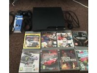 Ps3 with games and controller etc