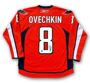 Autographed Ovechkin Jersey