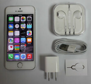 Apple iPhone 5S 16GB GSM LTE Gold A1533 Telus Koodo Warranty A46