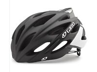 GIRO Savant Road Bike Helmet RRP £72 Matte Black Bicycle Accessory Safety