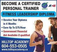 Become BCRPA and ACE registered Personl Trainer!!!