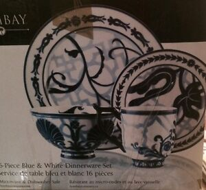 GORGEOUS Bombay 16 piece Dinnerware set