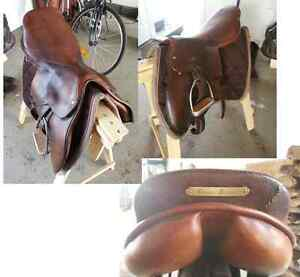 Selle anglaise et bombe