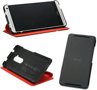 HTC Flip Case for HTC One max, Black/Red