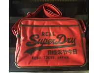 Four genuine SuperDry bags, good condition