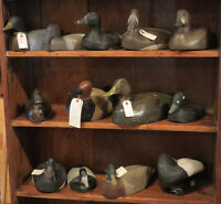 HUGE COLLECTION OF VINTAGE DUCK DECOYS ON SALE NOW!