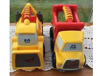 2 little tikes lorries VGC