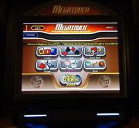 Megatouch arcade touchscreens