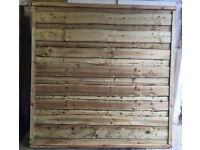 🌳Pressure Treated Heavy Duty Wooden/Timber Wayneylap Fence Panels🌳