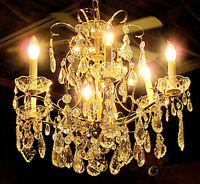 *Gorgeous Schonbek Chandelier - Visa, Mastercard, Delivery Avail