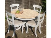 dining table & 4 chairs, kitchen table & 4 chairs, dining set