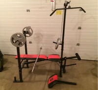 Workout Weight Bench - All-in-one