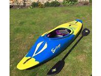 Savage Maniac freestyle play boat white water kayak