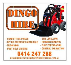 DINGO Hire $160.00 Kings Langley Blacktown Area Preview