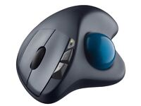 Logitech M570 Wireless Mouse Trackball for Windows, Mac - Black