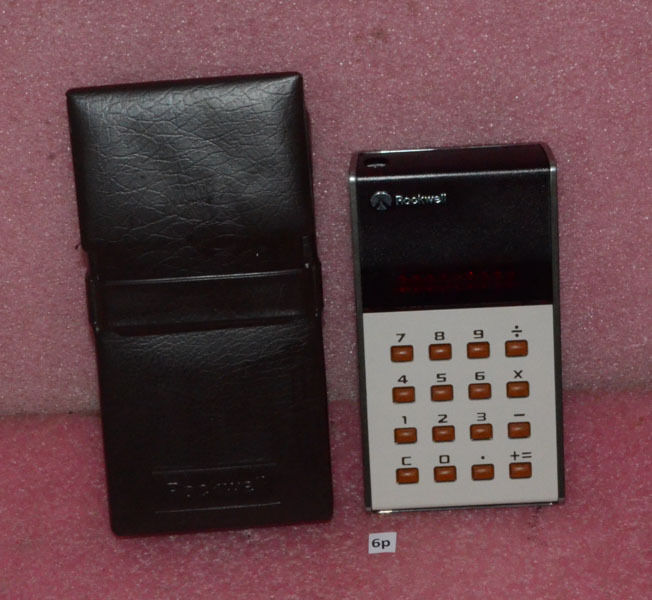 Vintage Rockwell Calculator Model 10R.