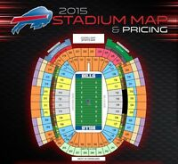 Buffalo Bills Tickets...including Home Opener!