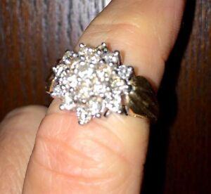 1 K Diamond Ring Gatineau Ottawa / Gatineau Area image 2