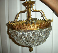 2 X Beautiful Antiques Chandeliers $180.