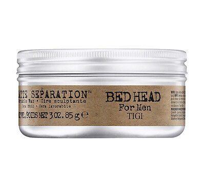 Tigi Bed Head per Uomo Matte Separation Workable Wax 85 g cera lavorabile