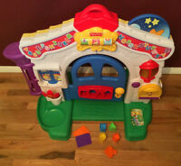 Fisher Price Laugh and Learn Musical Two Sided Learning Home
