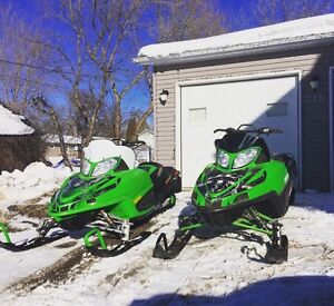 Weekly special- 2 Arctic cat sleds for sale.