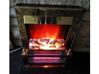 BURLEY ELECTRIC FIRE COAL EFFECT VGC MODEL 422 *NO TEXTS PLEASE*