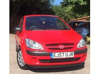 Hyundai Getz GSI, 1.4 petrol , 24/11/2007, very clean and run perfect
