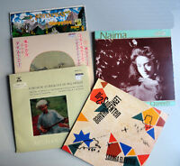 Lot of 6 World Beat vintage ethnic records disques vinyl LPs