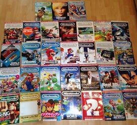 Official Nintendo magazines X 30 job lot