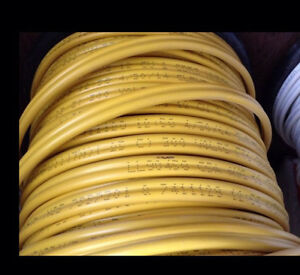 Romex® Yellow Electric Wire12/2 75m+ white 14/3 150m