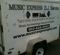 Music Express DJ Service - Disc Jockey - PEI's #1