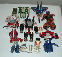 Transformers - Wheeljack and others, vintage and new, TMNT piece