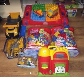 MEGA BLOKS Childrens Toy bundle Worth £120+ for £40