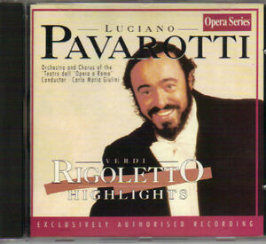 Luciano Pavarotti - Verdi's Rigoletto Highlights (Point) West Island Greater Montréal image 1