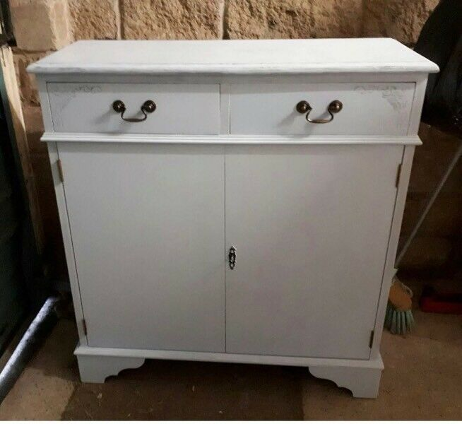 Restored Up Cycled Shabby Chic Sideboard