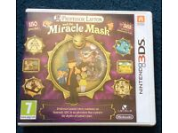 Professor Layton miracle mask 3ds