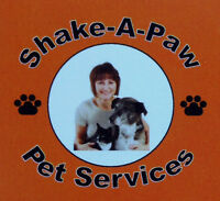 Shake-A-Paw Pet Services: Private Dog Walking & Pet Sitting