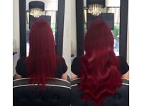 Cambridgeshire based mobile hairdresser: Tape extensions, LA weave, Micro extensions & Bonds