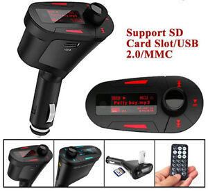 Brand new Car MP3 Player FM Transmitter With USB SD MMC Slot