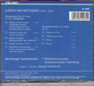 Beethoven - Symphony No. 5 & 6 'Pastoral' (Teldec) West Island Greater Montréal image 2