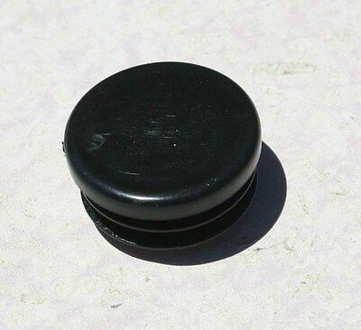 10 1 Round Plastic Tubing Plug End Cap 1.00 Inch 12 To 20 Gauge